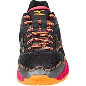 Mizuno Wave Daichi 2 Running Shoes Women Black/Black/DivaPink